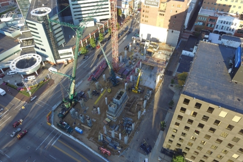 Please Construction Clients with Drone Photography