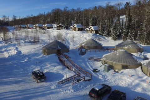 Stay Warm with Aerial Video in Kalamazoo