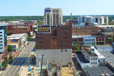 Build a Portfolio of Construction Projects with Drone Pilots in Kalamazoo