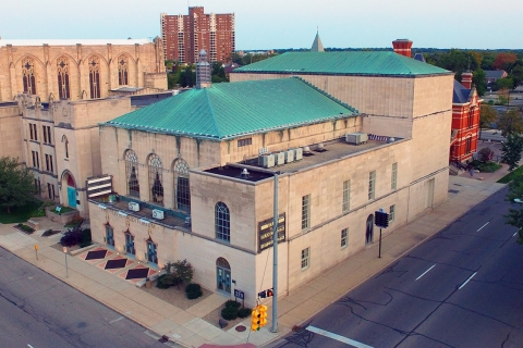 Drone Photography in Kalamazoo from Blue Fire Drones