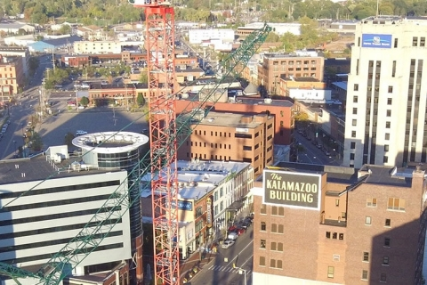 Enhance Construction Viewing with Drone Video in Kalamazoo